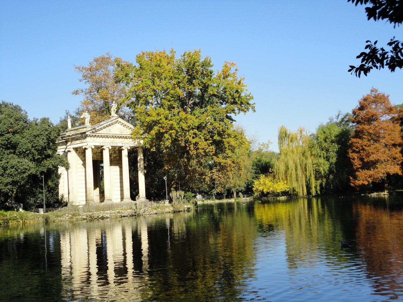 La rome verte parcs et balades dans rome rome inoubliable for Le jardin 489 rome